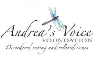 andrea's voice logo